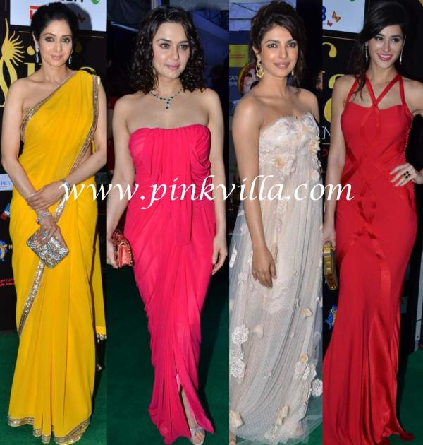 , Iifa Awards 2012 -ladies Of Bollywood And Their Dresses