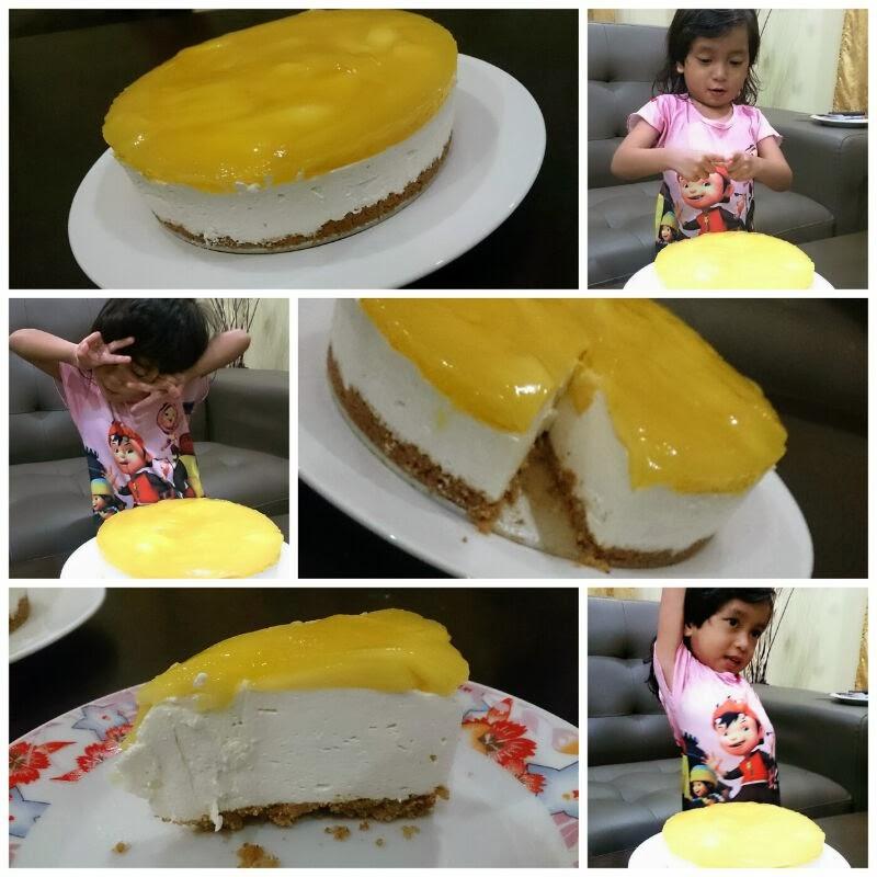 recipe: resepi kek mango cheese leleh [14]