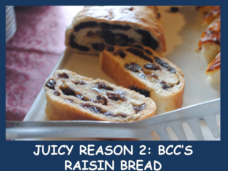 BCC's Raisin Bread