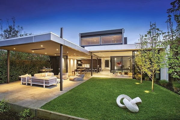 Casas minimalistas y modernas casa moderna en brighton for Casa quinta moderna