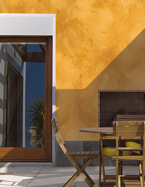 Pintura y madera pintura de efectos decorativos para tus for Pintura para pared exterior