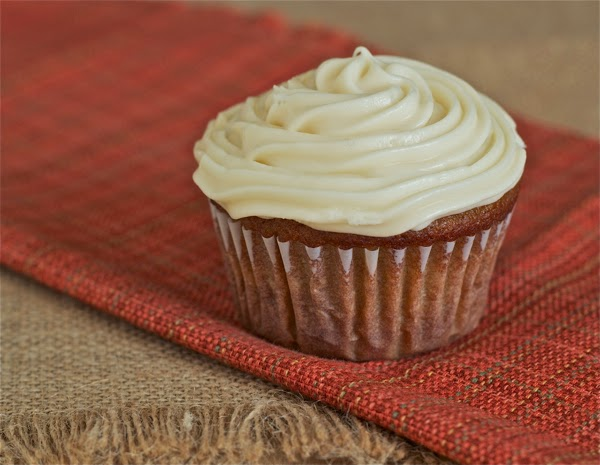 gluten free pumpkin ginger cupcakes with mascarpone frosting