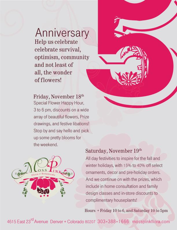 how to celebrate 5 year anniversary
