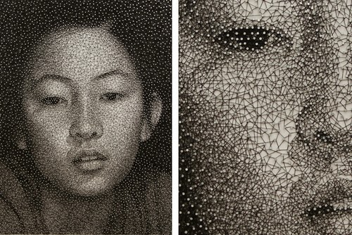 01-Nail-Art-Artist-Kumi-Yamashita-Constellation-Portraits-www-designstack-co