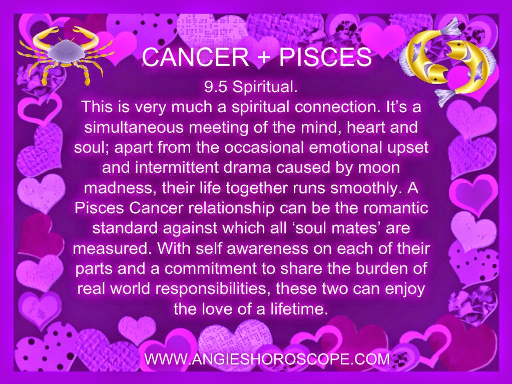 cancer and pisces relationship match