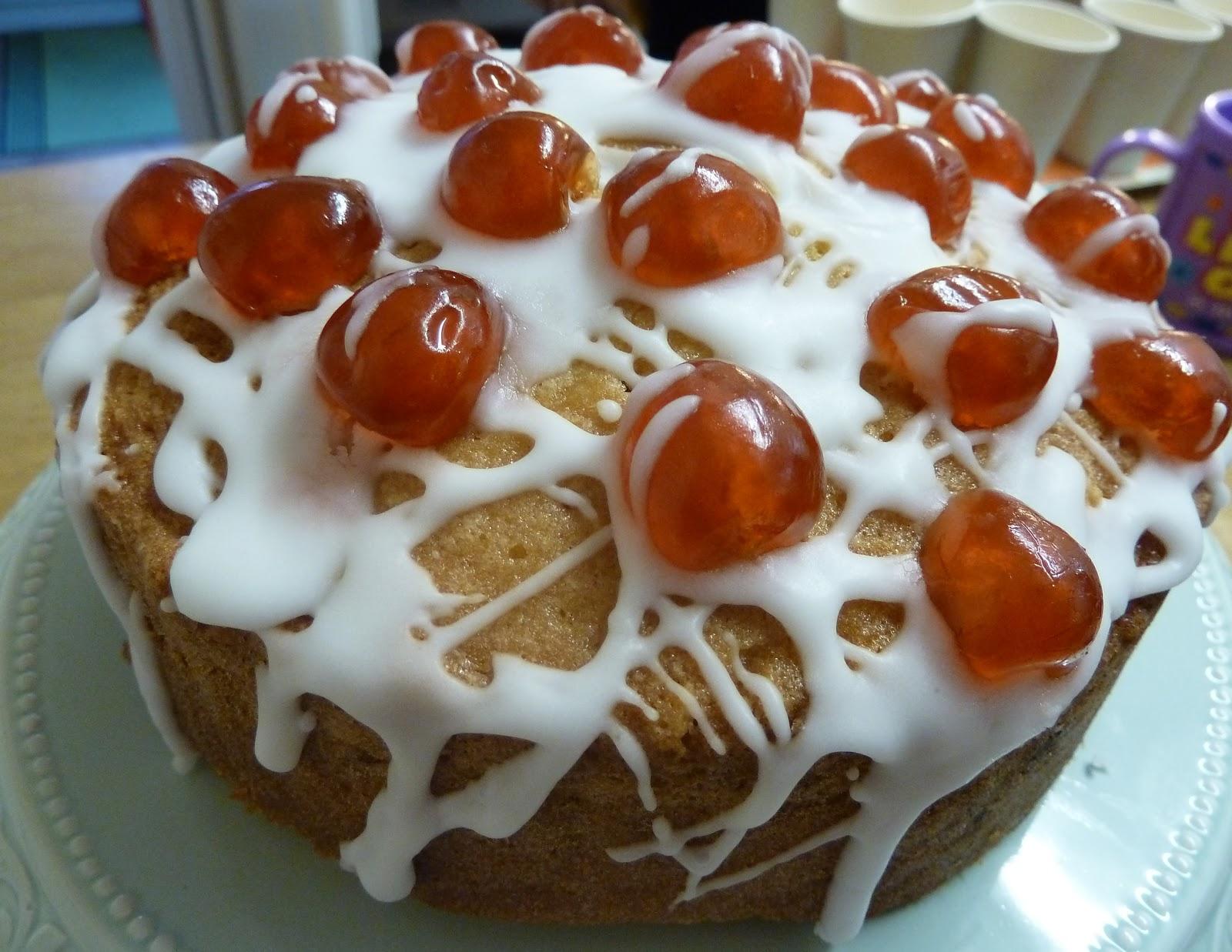 Cherry Cake Recipe with Lemon Icing   Garden, Tea, Cakes ...