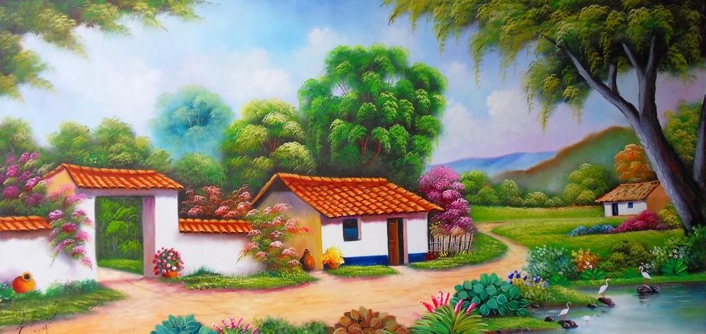 paisaje-colombiano-al-oleo