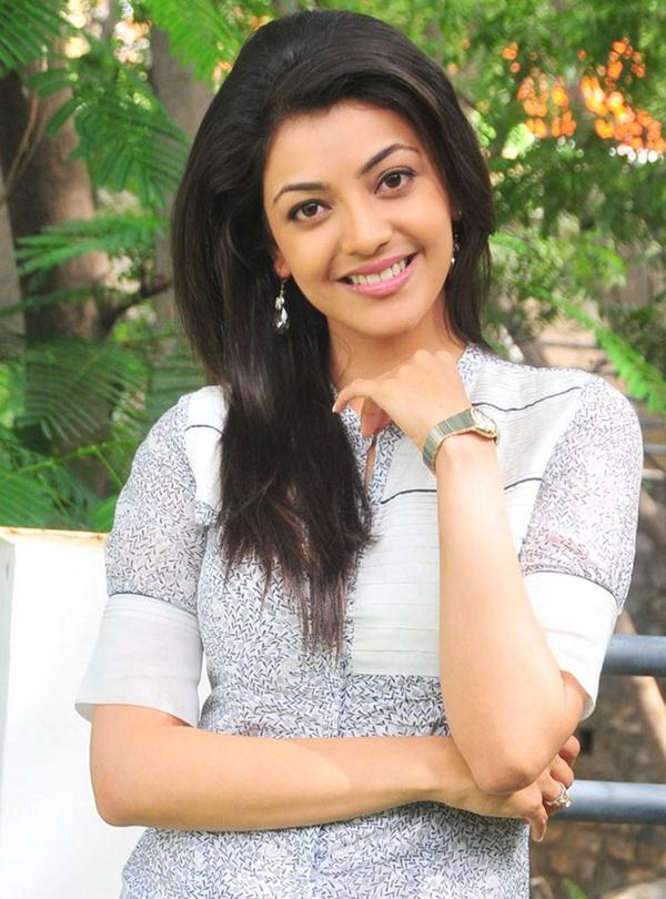 Kajal Agarwal  smiling - Cute Kajal Agarwal Different Faces