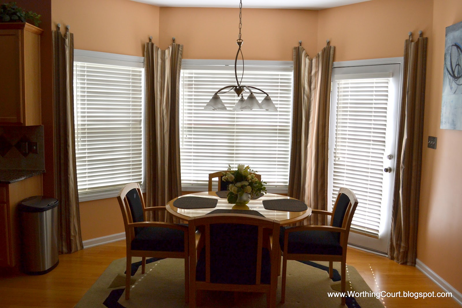 Bow Window Drapes
