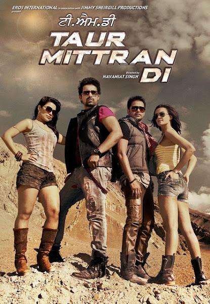 Poster Of Taur Mittran Di 2012 1CD DVDRip Punjabi