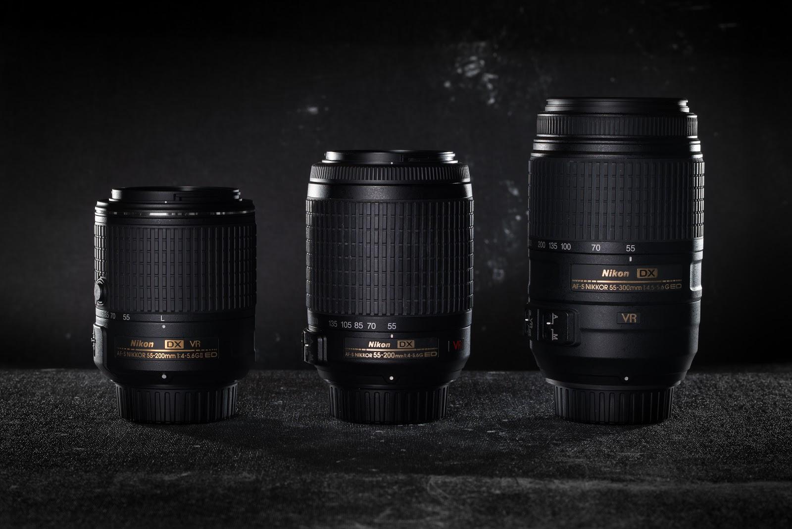Lens 200mm Nikon Nikkor 55-200mm vr ii Lens