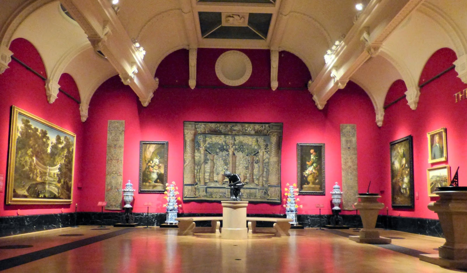 The Baroque Garden exhibition room