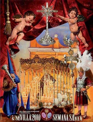 Cartel Semana Santa de Sevilla 2010