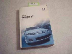 2008 Mazda 6 Owners Manual