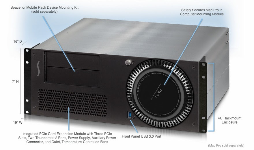 Sonnet xMac Pro Server Expansion Chassis image