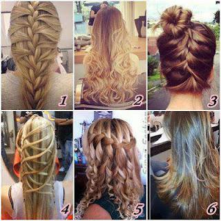 Mais modelos de penteados