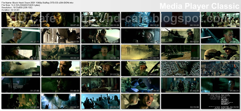 Black Hawk Down 2001 video thumbnails