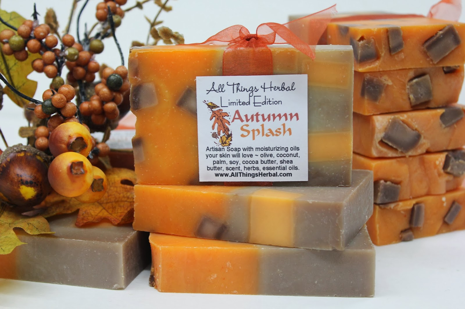 All things herbal blog soaps for october for Fall soap scents