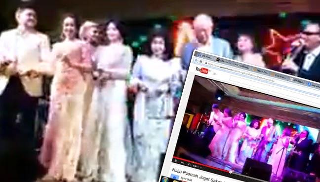 Video Najib berjoget sakan di Kazakhstan tersebar Saksikan