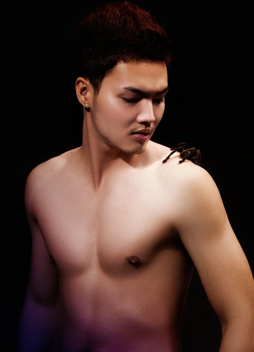 Khmer male nude model star pic