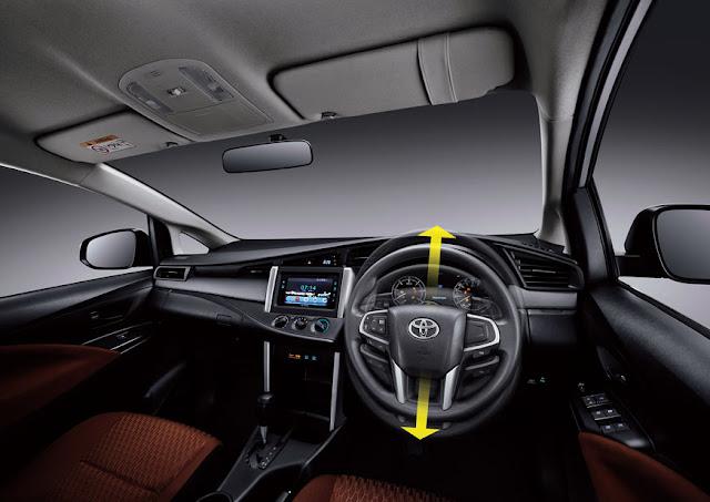toyota-innova-sterring 2016 டொயோட்டா இன்னோவா எம்பிவி கார் அறிமுகம் - Toyota Innova