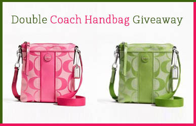 Double Coach Handbag Worldwide Sweepstakes