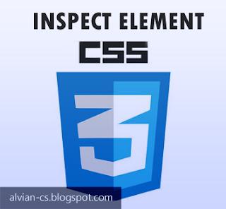 mudah mendesain css inspect element