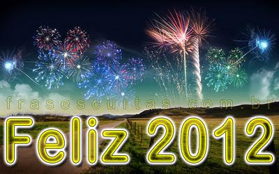frase de feliz ano novo 2012