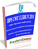 ibps-clerk-iv-2014-exam-december-interview-experience-E-Book