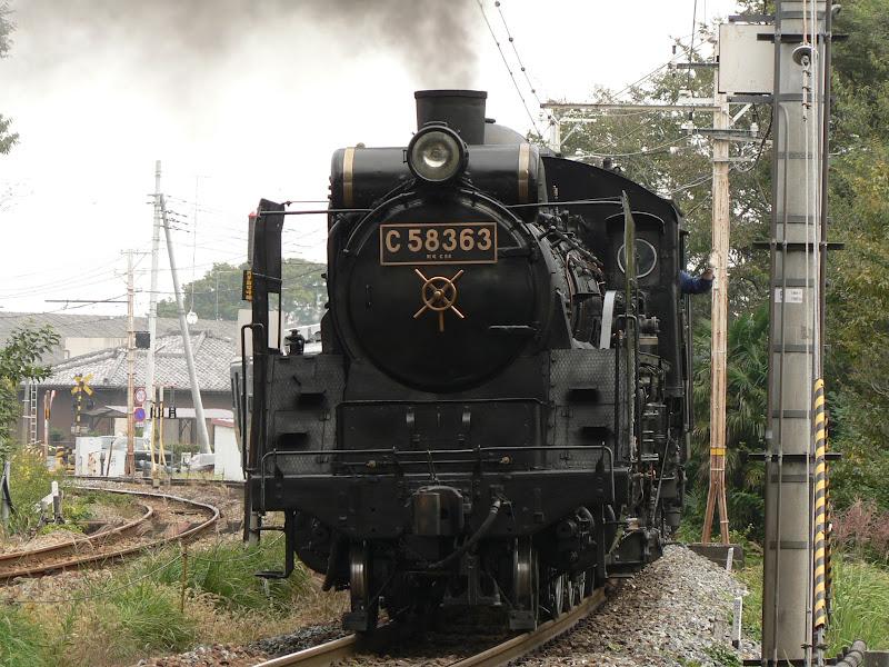 秩父鉄道で運行されているパレオエクスプレス