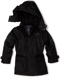 Nautica Sportswear Kids Boys 2-7 Hooded Snorkel Jacket