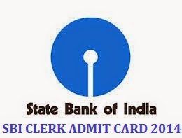 sbi clerk admit card 2014 download