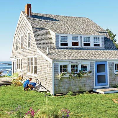 all in the detail monday at the beach On new england cottage style