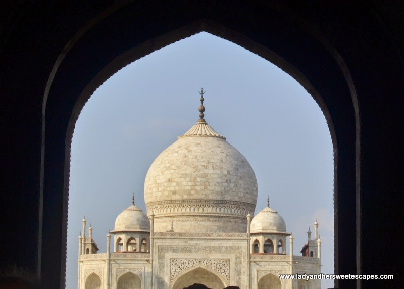 the Taj Mahal in all its glory
