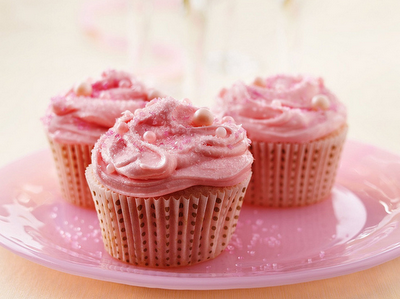 Betty Crocker Champagne Cupcakes