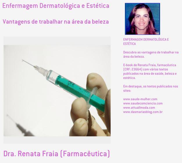E-Book Enfermagem Dermatológica e Estética: Vantagens de trabalhar na área da beleza