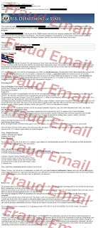 fraud email sample
