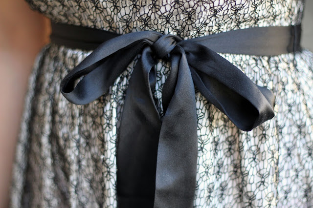 Ribbon Bow Belt