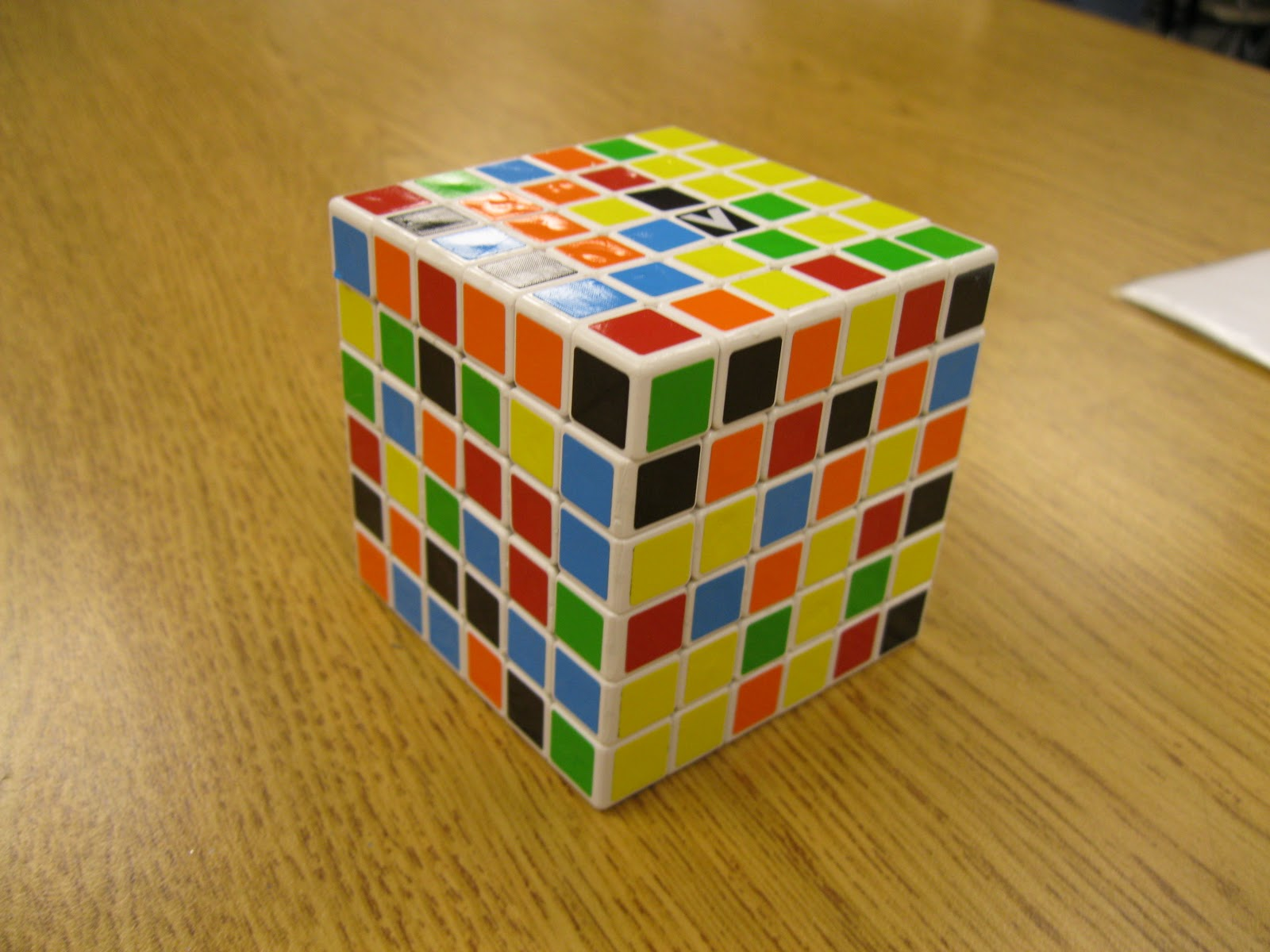 Кубик рубика с фото своими руками 5