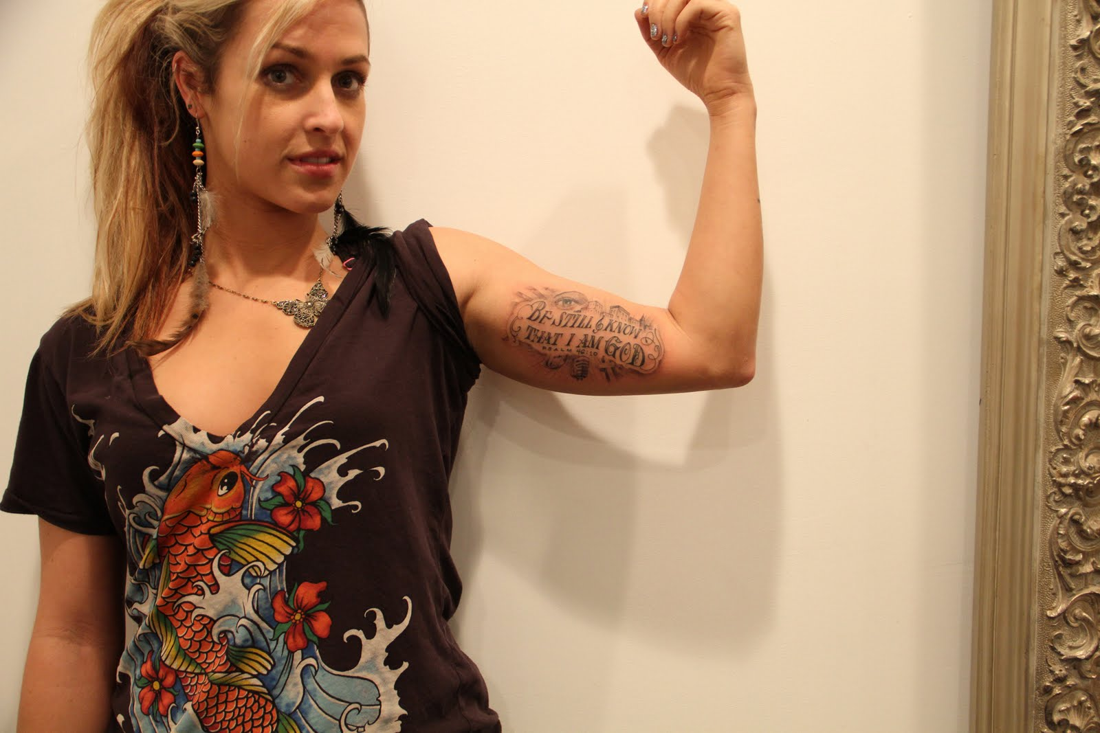Cartoons New York Tattoo