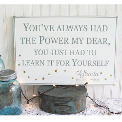You've always had the power - Glinda