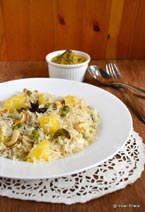 Potato Peas Pulao Recipe