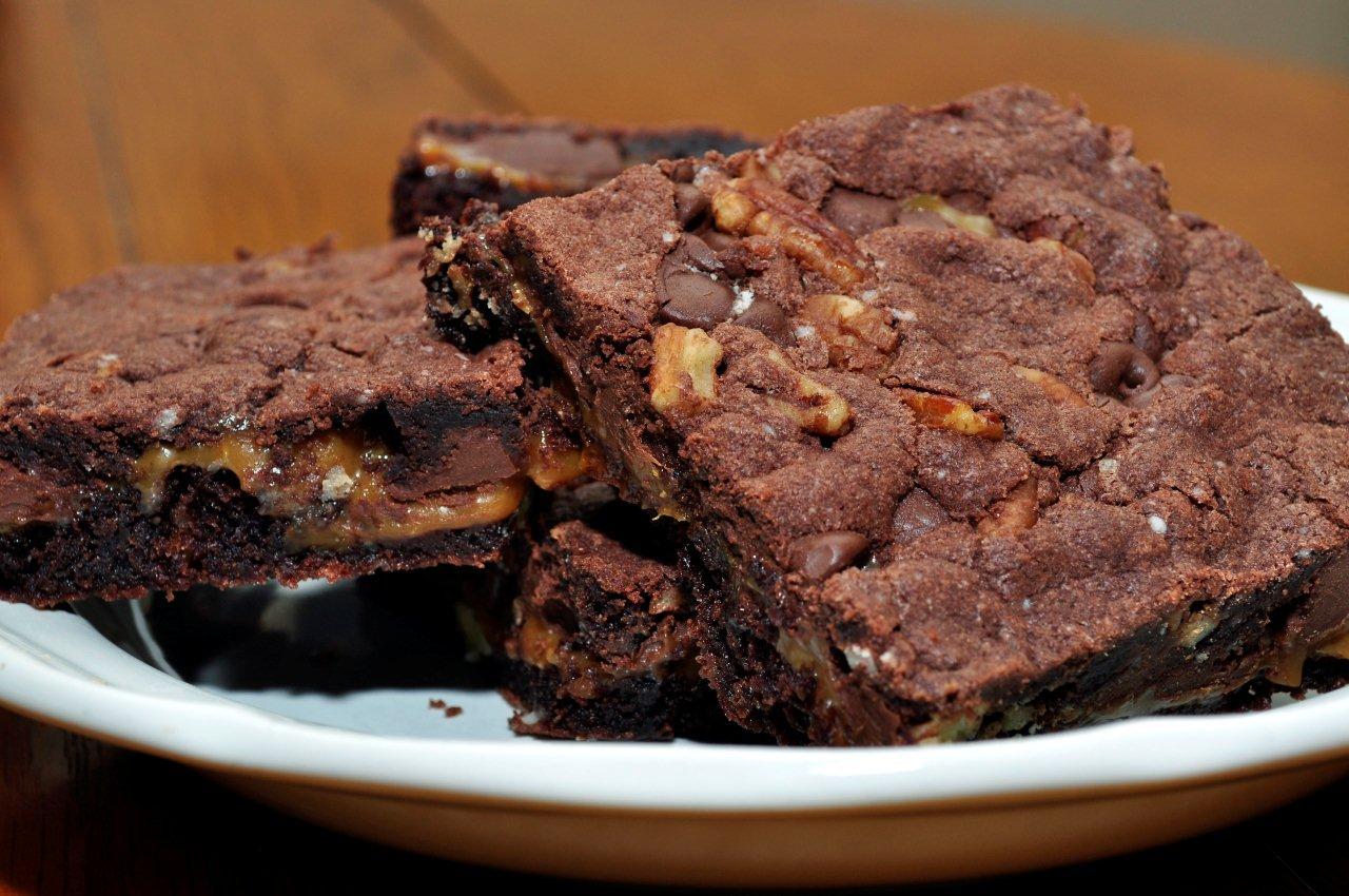 Turtle Brownies ~ Oldie but a Goodie