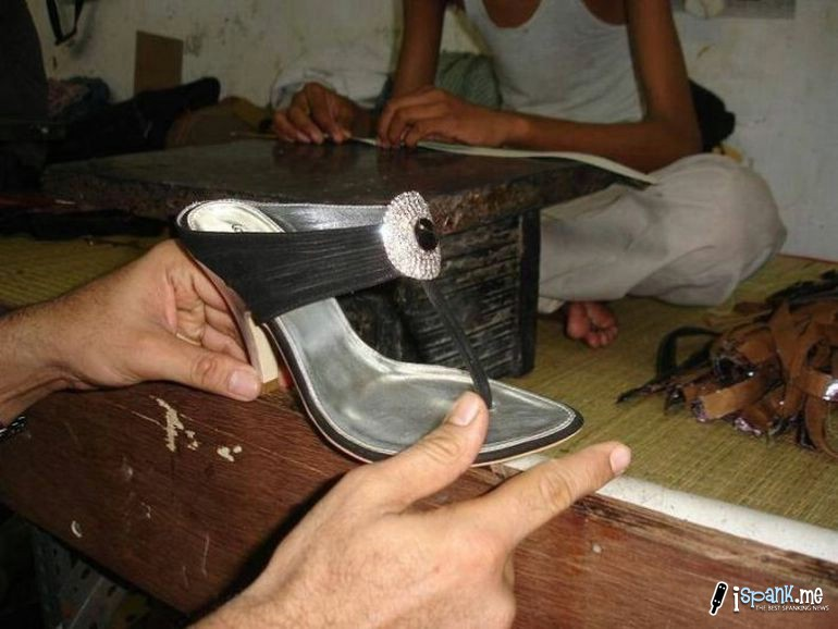 How luxurious high heels are made?