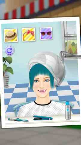 Princess Hair Salon - Girls games, iPhone Action Game  Businesss Free Download, iPhone Applications