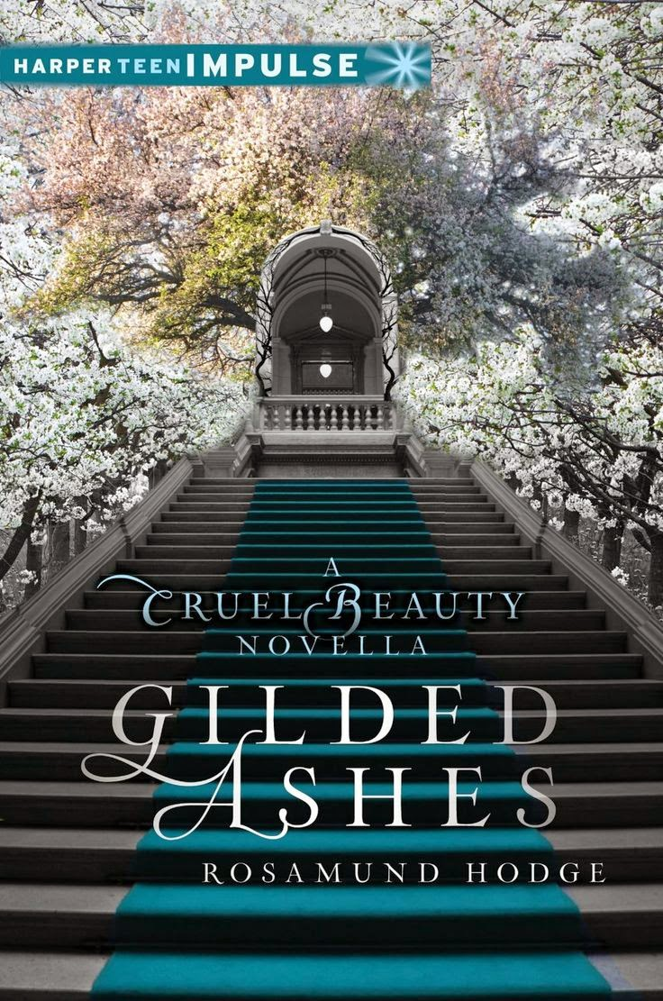 gilded ashes by rosamund hodge book cover