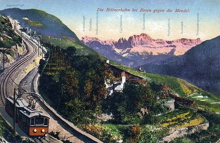Bolzano Italy  city photo : transpress nz: the Rittnerbahn, Bolzano, Italy