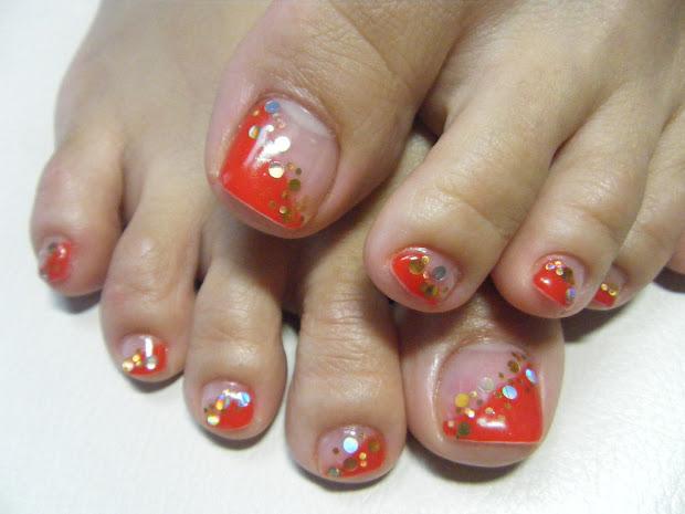 summer toe nail design pccala