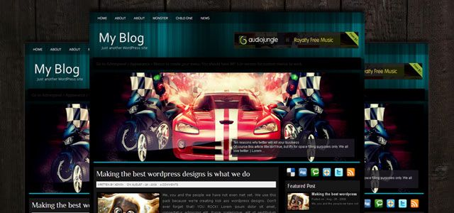 Xpress Free WordPress Theme