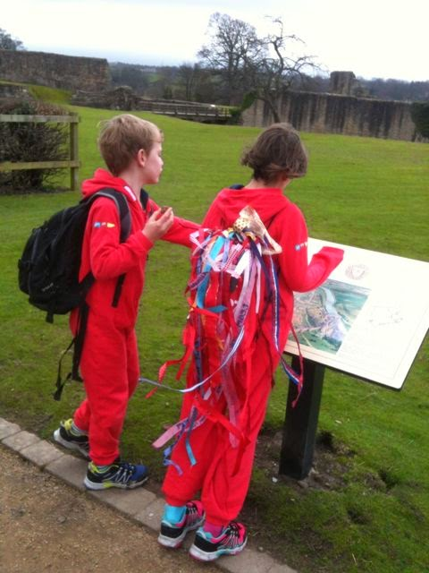 Reading about Barnard Castle
